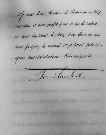Révision constitutionnelle - dernière page