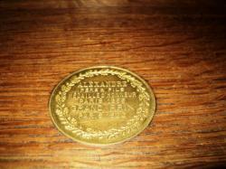 La médaille Alexandre( avec expo. universelle de 1900)