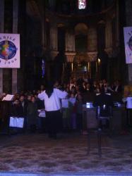 Concert chant et harmonium le 20 décembre 2009 à l'église de Maringues