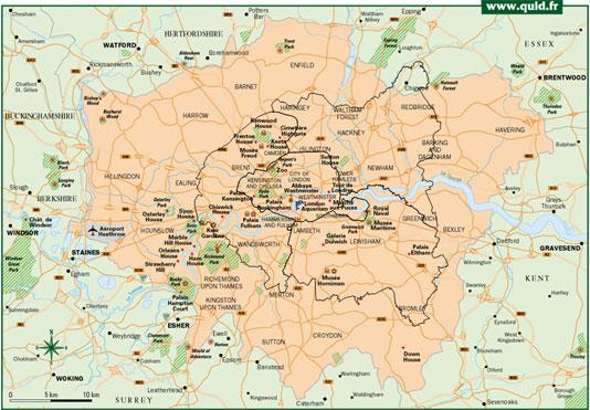 1 Londres sa métropolisation et son urbanisation.