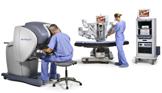 da vinci machine surgery