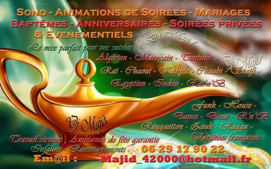 Accueil Dj Majid Sonorisation Evenementiels Le Professionnel Du Mariage Oriental