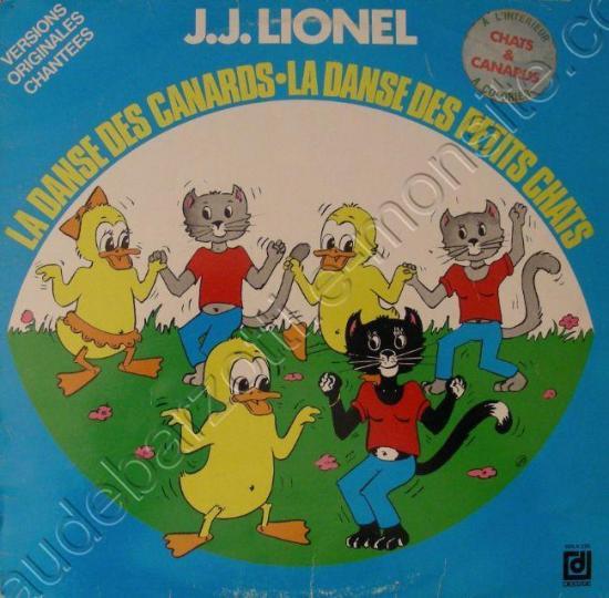 33 T la danse des petits chats JJ Lionel