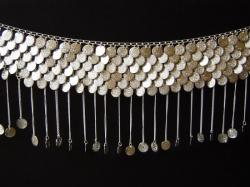 Ceinture Sequin Argent pendants chaines 22,00 €