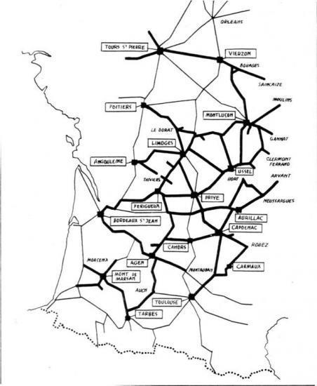 Trains du Sud-Ouest