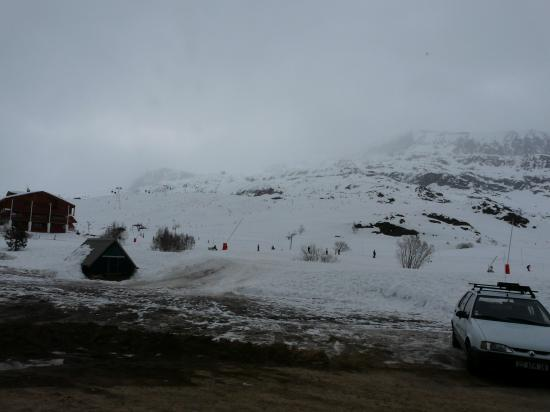 mauvais temps à l' Alpe d' Huez