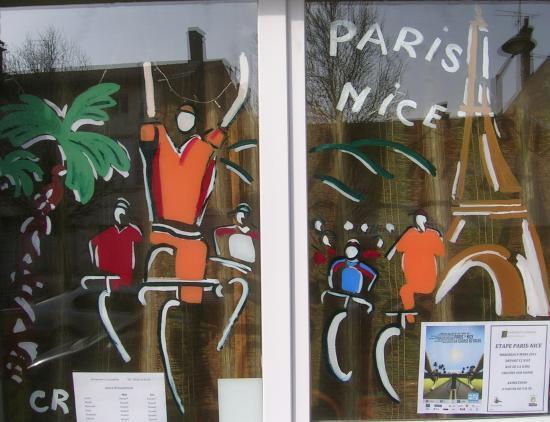 Crêches sur Saône ville étape du Paris Nice