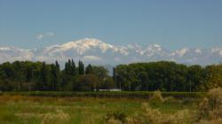 Cordillera desde Mendoza