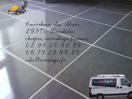 La pose de carrelage for Calcul colle carrelage