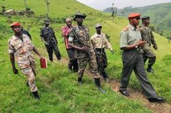 Bosco Ntaganda avec son escort