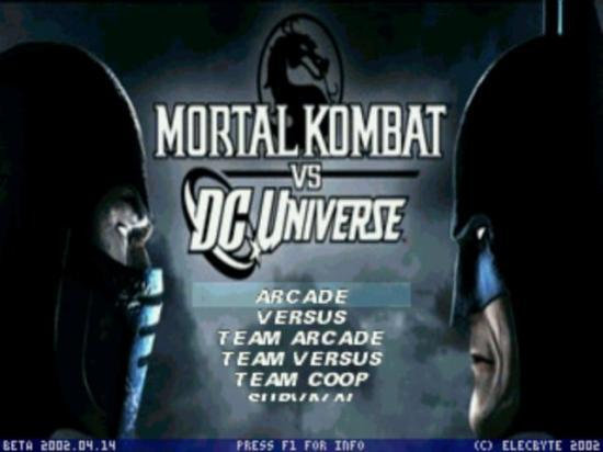 mortal kombat vs dc universe pc torrent indir