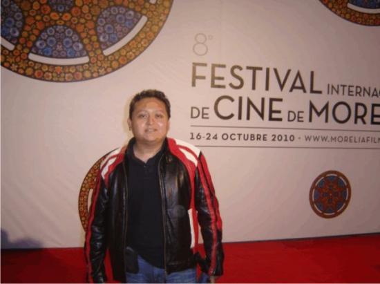 Miguel Ventura à Morelia, octobre 2010.