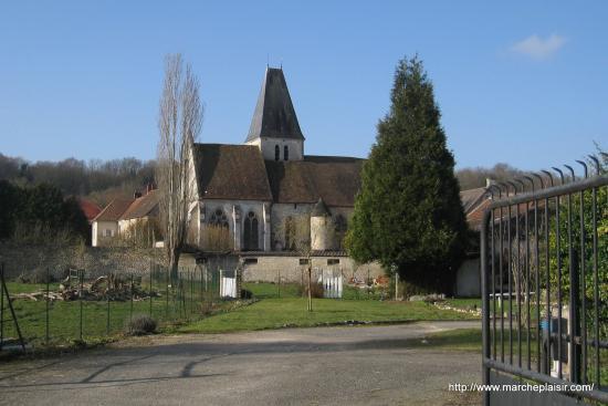 église de Genainville
