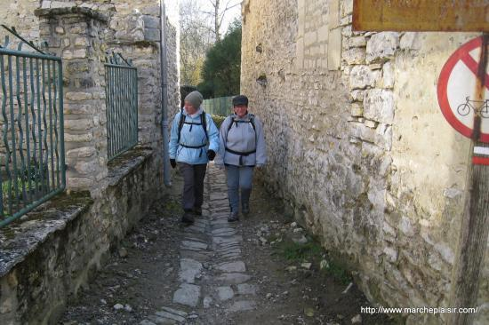Elena et Marcelle à Genainville