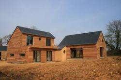 La toiture, les baies vitrées