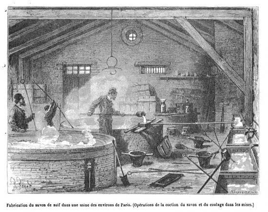 savon de marseille historique