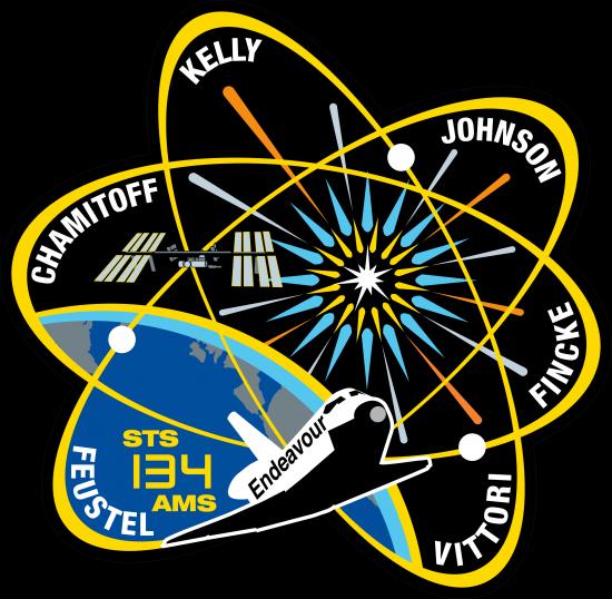 Logo de la mission STS 134