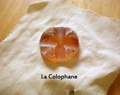 La colophane, archet