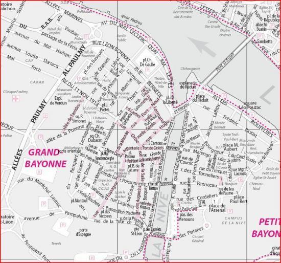 plan de bayonne - Image