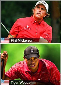 Phil versus Tiger au Doral
