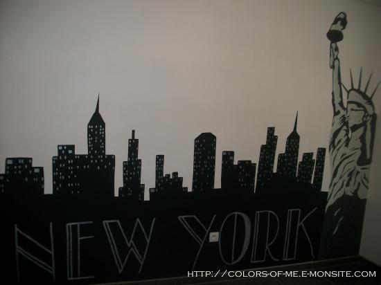 Chambre ado new york for Chambre new york garcon