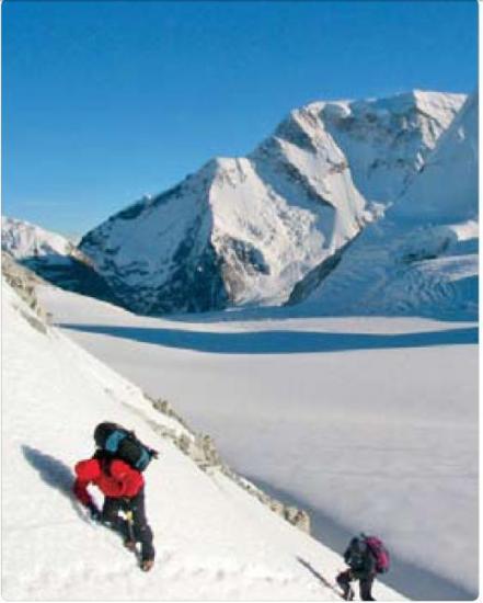 Gravir l'Everest