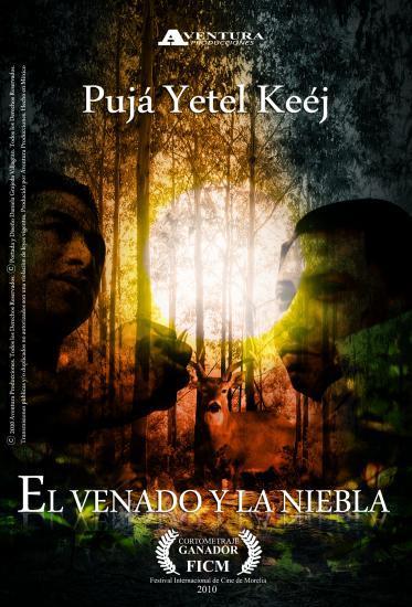 """Cartel """"El Venado y la Niebla""""."""