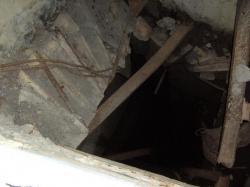 Escalier,case B3,Col de Brouis détruits