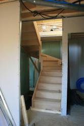 Pose escalier 11.03.2011