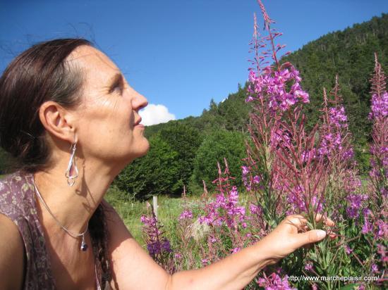 Annick en Ardèche