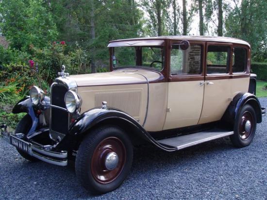 Citroen C4g 1931