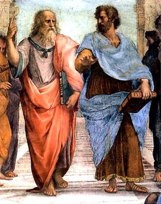Ecole d'Athènes - Platon et Aristote