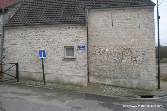 Rue des Granges à Arronville
