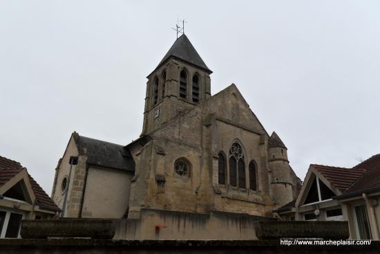 L'église d'Arronville