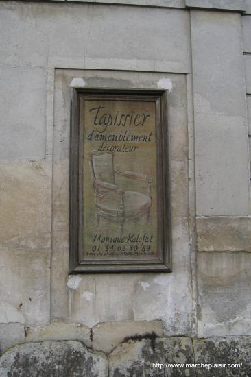 vieille enseigne à Menouville
