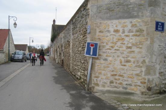 Rue de la Croix, et rue de la couture