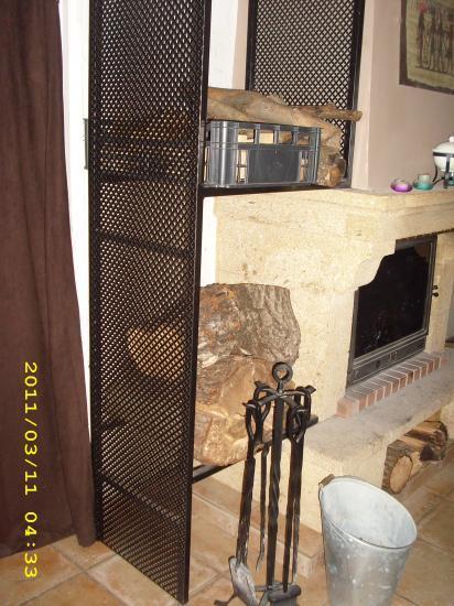 meuble de stockage pour bois. Black Bedroom Furniture Sets. Home Design Ideas