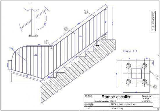 rampe escalier chantier ext rieur. Black Bedroom Furniture Sets. Home Design Ideas