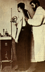 Radiographie des poumons par le docteur Béclère.