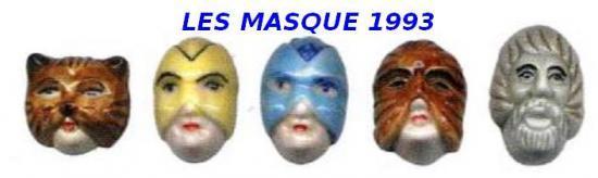 1993 LES MASQUES